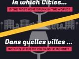in which cities is the most wine drunk dans quelles villes boit on le plus de vin