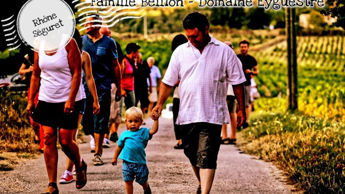 La famille Bellion du domaine Eyguestre (Rhône, Séguret)