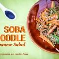salade japonaise nouilles soba noodle japanese salad