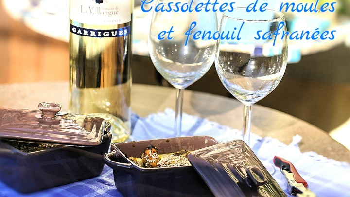 Mussels and Fennel Saffron cassolettes
