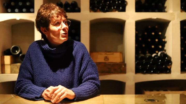 Christine Deleuze, Clos Bagatelle (Saint Chinian, Languedoc)🍷🍇🐕