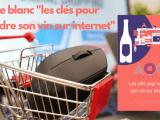 Image d'une souris dans un caddy et miniature du Livre blanc vendre son vin sur internet