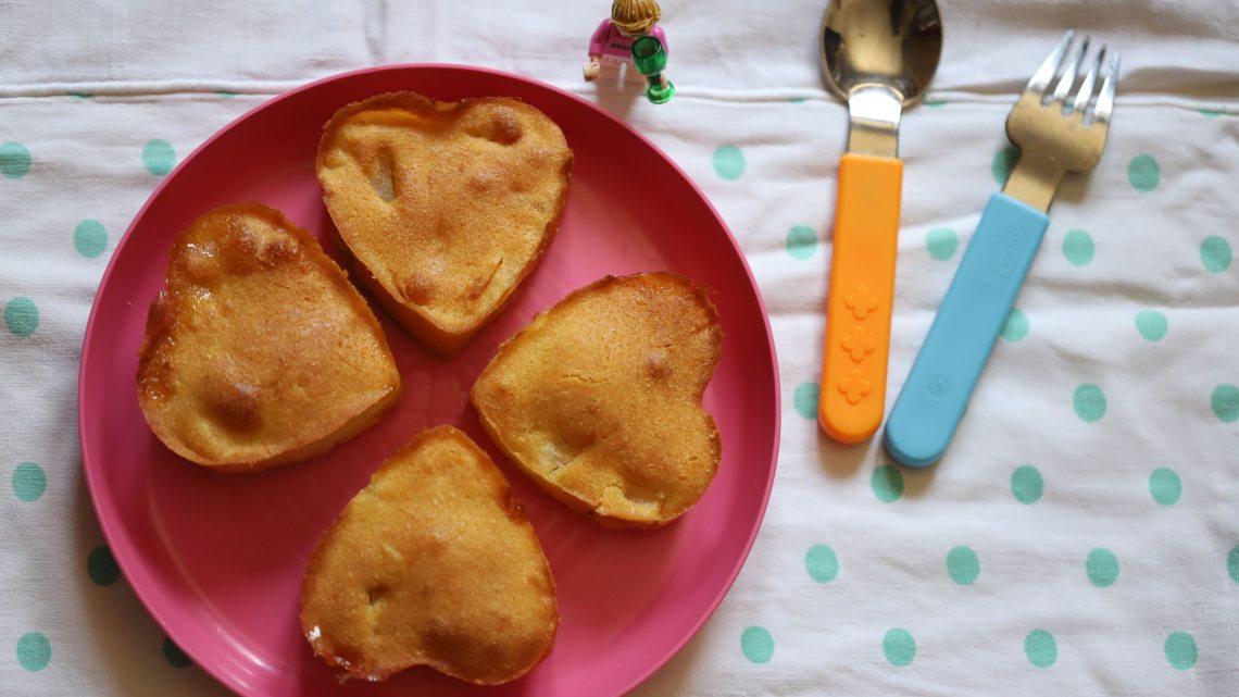 Petits gâteaux cœur à l'ananas 💗🍍