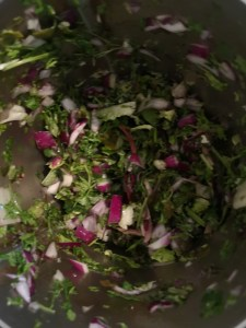 Mélange de verdure