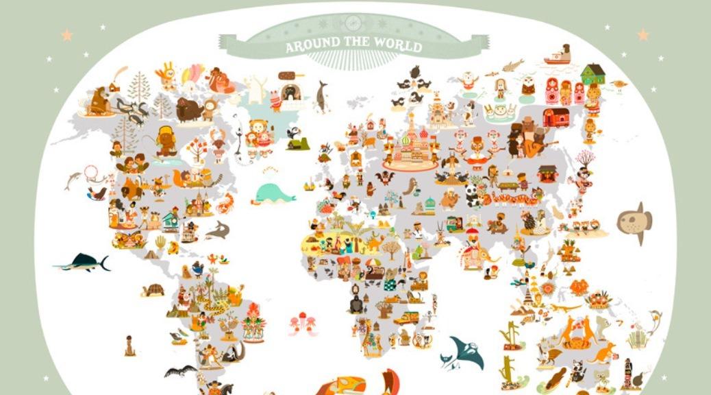 Un tour du monde…14 pays visités >>> le planning (mis à jour le 02/11/14)