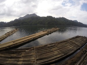 Lac de Khao Sok 1