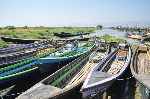 Lac Inle bteaux