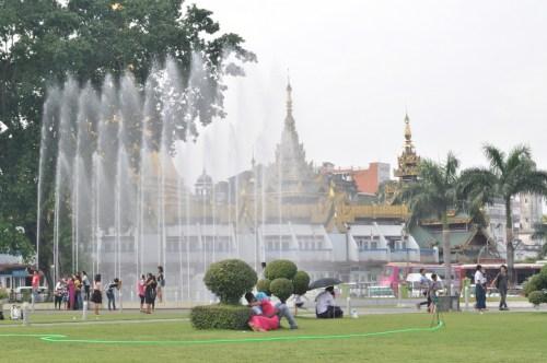 Mahabandoola Garden Yangon 2