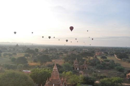 lever du soleil Bagan 4