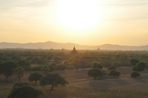 coucher du soleil Bagan 3