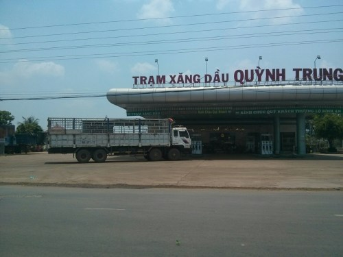 Camion frontiere cambodge vietnam