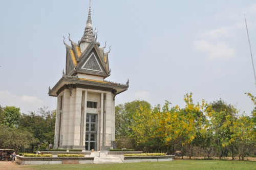 Killing Fields memorial du souvenir