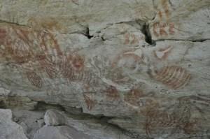 Dessins aborigenes Carnarvon 0806