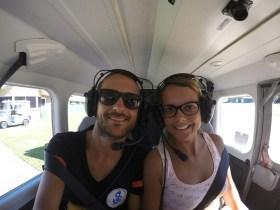 Selfie avion Airlie Beach 0803