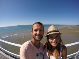 Selfie jetee Hervey Bay 0808