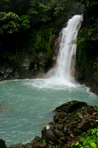 Rio Celeste cascade 2