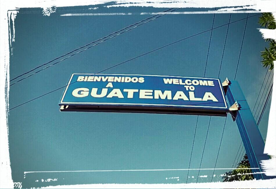 Frontière Honduras - Guatemala : so easy !