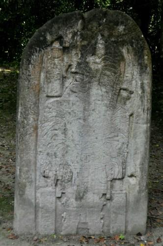 Tikal stele 16