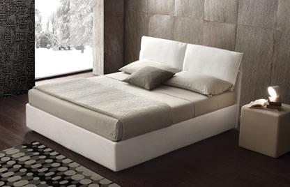 Lit double lits et cadres de lits  rangement MARION