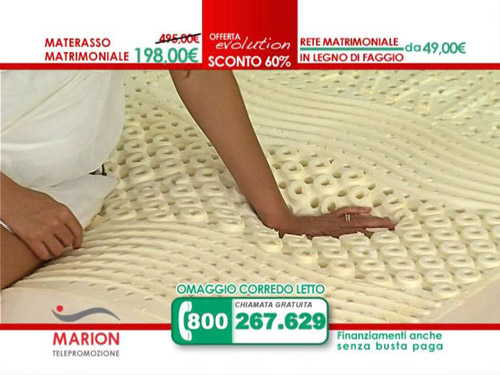 Offerta materasso MARION Evolution il NUOVO materasso in