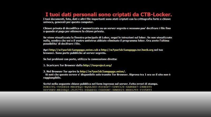recuperare file criptati da ctb locker
