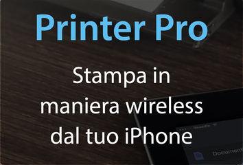 Printer Pro stampare da iPhone wireless