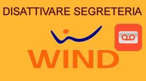 Disattivare Segreteria Wind