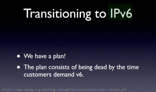 Transicão para IPv6