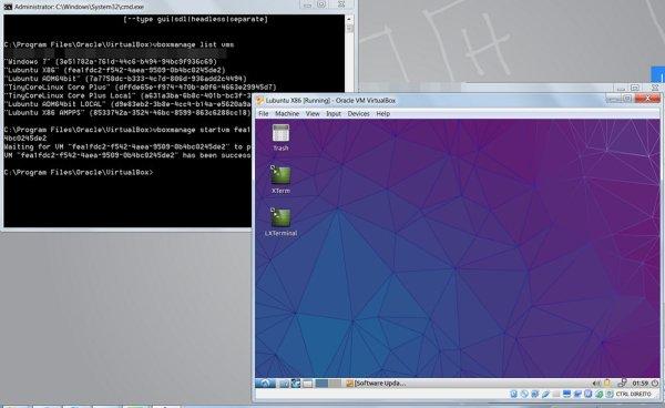 Lubuntu started
