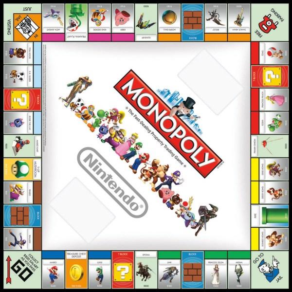 Nintendo-monopol Pokmon- Und Zelda-monopoly-ausgaben