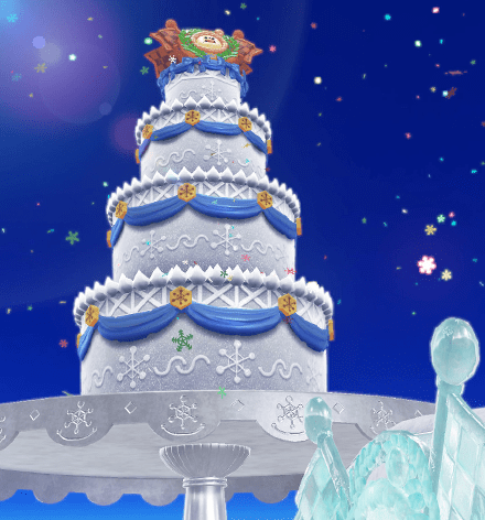 Frost Frosted Cake Super Mario Wiki The Mario Encyclopedia