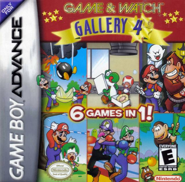 game watch gallery 4