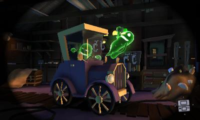 Garage Luigis Mansion Dark Moon  Super Mario Wiki