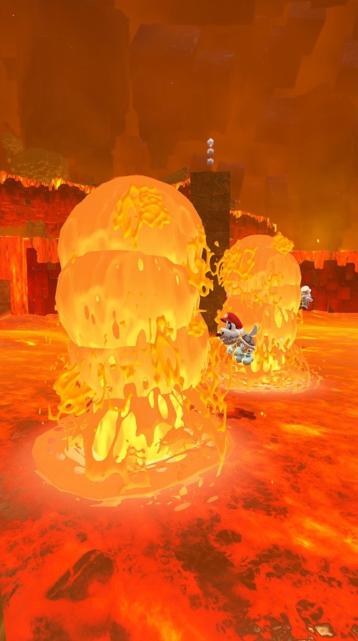 Lava Geyser Super Mario Wiki The Mario Encyclopedia