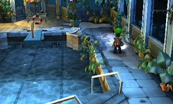 Rooftop Pool  Super Mario Wiki the Mario encyclopedia