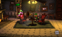 Parlor Luigis Mansion Dark Moon  Super Mario Wiki