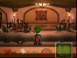 Dining Room Luigis Mansion  Super Mario Wiki the