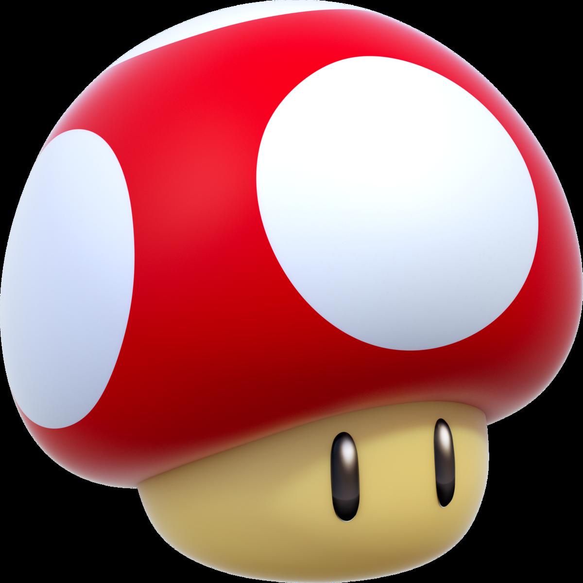 Super Mushroom Super Mario Wiki The Mario Encyclopedia