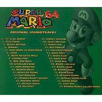 Super Mario 64 Original Soundtrack  Super Mario Wiki the