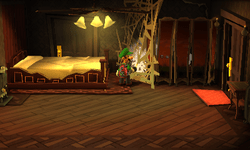 Bedroom Luigis Mansion Dark Moon  Super Mario Wiki
