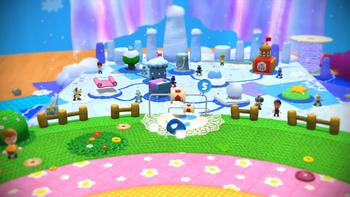 World 5 Yoshis Woolly World  Super Mario Wiki the