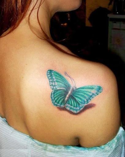 50 Diseños De Tatuajes De Mariposas Realmente Bonitosmariposasonline