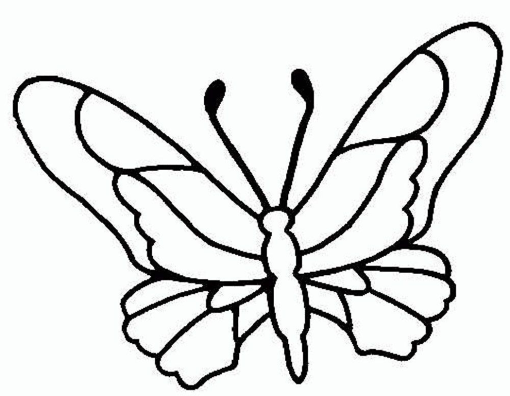 Dibujos de mariposas para imprimir :: Imágenes y fotos