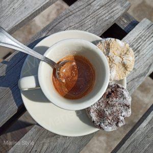 Biscotti cocco e cioccolato senza burro
