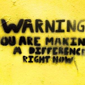 Norwich Street Art Warning by MarkHeyBo on Flickr