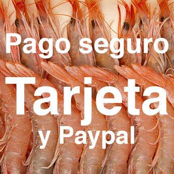 Métodos de pago Mariscodehuelva.es