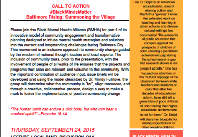 Black Mental Health Alliance