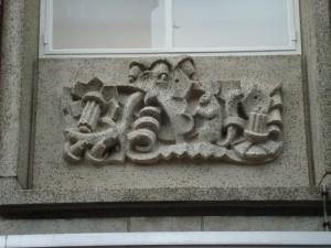 Nijmegen - Burchtstraat (reliëf 6)