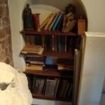 Marishuis - Bibliotheek woonkamer