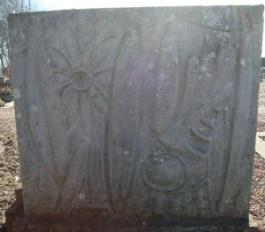 Millingen - Grafsteen Ida van Gils (achterzijde)
